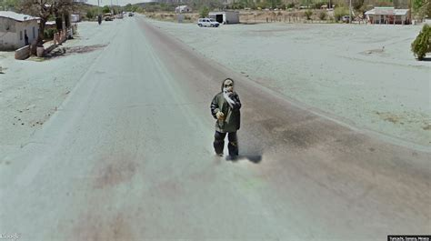 scary street view  mexico google street view