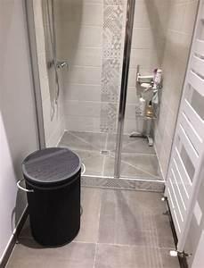 Salle d39eau pour espace reduit avec douche italienne aix for Meuble salle de bain espace reduit