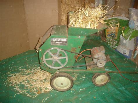 convert  leaf shredderwood chipper   grain thresher