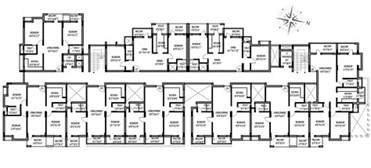 Home Plans For Large Families by Multi Family Compound House Plans Family Compound Floor