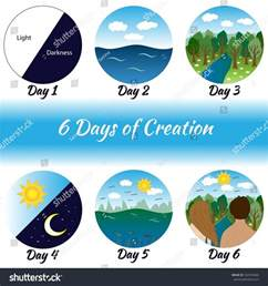 7 Days Creation Bible Story