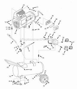 Campbell Hausfeld 6 Hp 220v Air Compressor Wiring Diagram