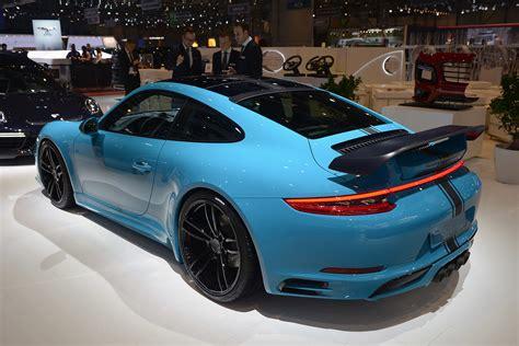 2018 Techart Porsche 911 Turbo S Dark Cars Wallpapers