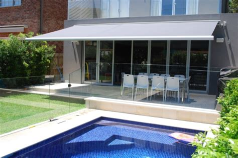 folding arm awnings retractable blinds  awnings custom