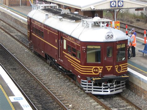 South Motors by New South Wales 400 500 Class Railmotor