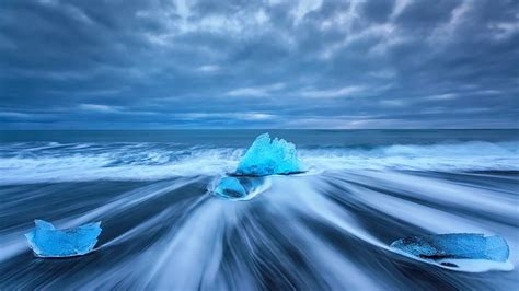 photography long exposure nature landscape water sea