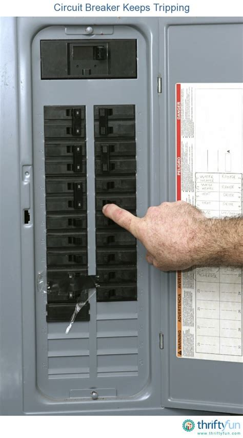 troubleshooting why a circuit breaker keeps tripping thriftyfun