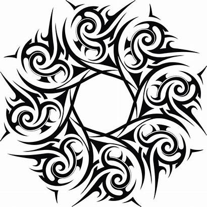 Peace Coloring Pages Sign Printable Ornament Tribal