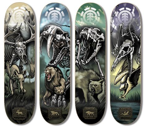 Nyjah Huston Owl Deck by Element Skateboards On Behance