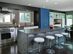 Galley Kitchen With Island Layout Photo Page Hgtv
