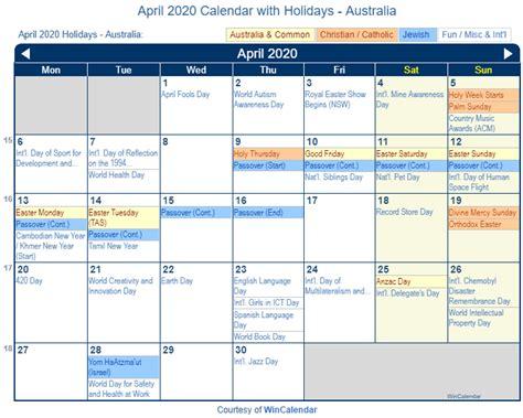 print friendly april australia calendar printing