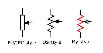 Electronic Circuit Symbols Diagrams Eleccircuit