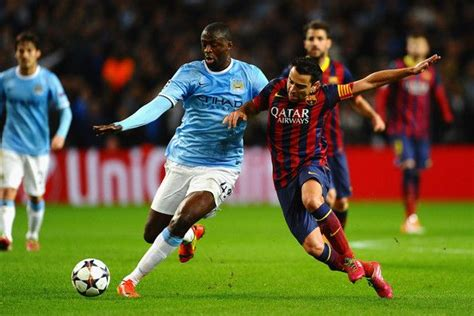 Yaya Toure Photos Photos: Manchester City v Barcelona ...