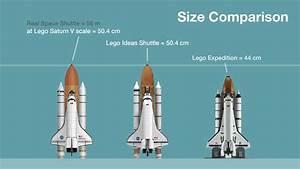 This Lego Space Shuttle Concept Matches the Lego Apollo Rocket