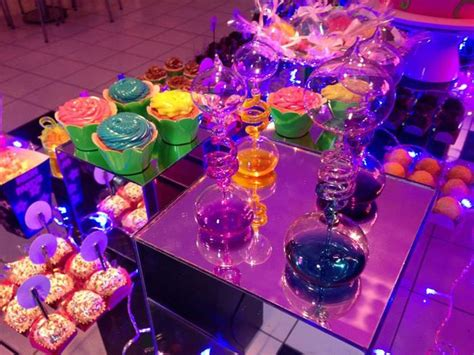 Kara's Party Ideas Neon Themed Tween Party With Lots Of