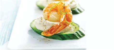 shrimp canape recipe jumbo shrimp canapés with chili lime recipe dairy