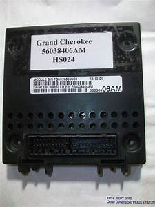 Tested 2000 Jeep Grand Cherokee Bcm Module Body Control 56038406am  Hs024