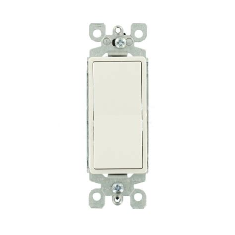 Leviton Decora Amp Way Illuminated Switch White