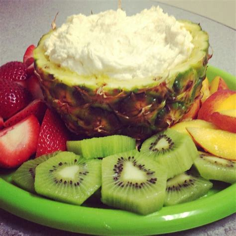 Low Carb Fruit Dip 8oz Fat Free Cream Cheese 6oz Sugar