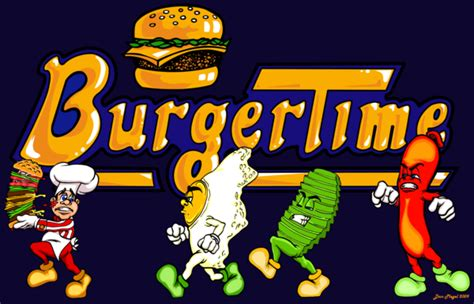 Burgertime Welcome To The Intellivision Revolution