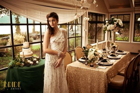 Great Gatsby Wedding Celebrating the roaring 20's with