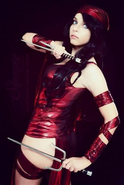 Elektra Shermie Cosplay Daredevil Cat February Hugo