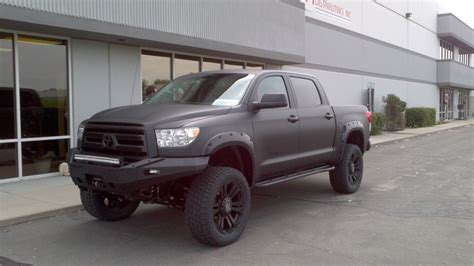 Blacked Out Toyota Tundra