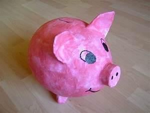 Sparschwein Zum Bemalen : spardose basteln als geschenk f r kinder und erwachsene diy ideen ~ Frokenaadalensverden.com Haus und Dekorationen