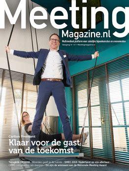 meeting magazine uw kenniscentrum voor vergaderlocaties