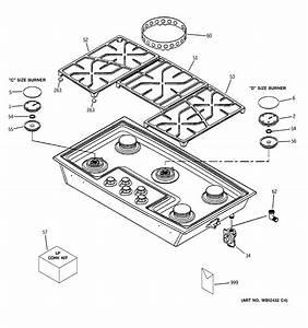 Ge Gas Cooktop Parts