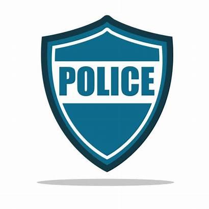Police Vector Icon Badge Clip Flat Symbol