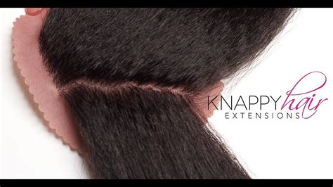 knappy hair extensions youtube
