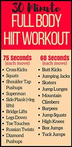 Amazing 30 Minute Full Body At Home Hiit Workout