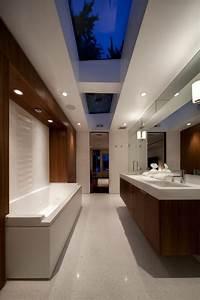 Moderne Badezimmer Beleuchtung : badbeleuchtung f r decke 100 inspirierende fotos ~ Sanjose-hotels-ca.com Haus und Dekorationen