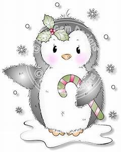 Digital (Digi) Cute Penguin Stamp. Makes Cute Christmas ...