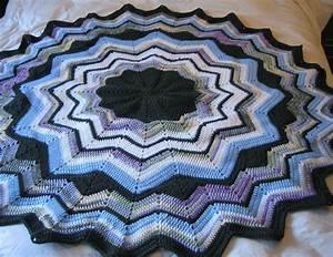 Janelwashere Round Ripple Crochet Afghan Pattern
