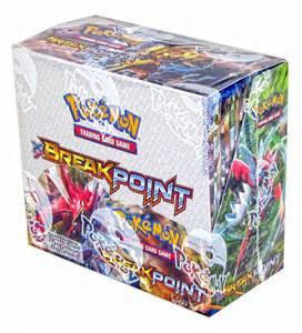 pokemon breakpoint booster 6 box case