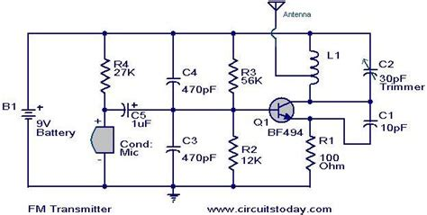 Simplest Transmitter Circuit Diagram World
