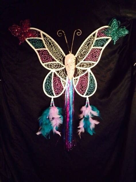 butterfly dream catcher  total length special
