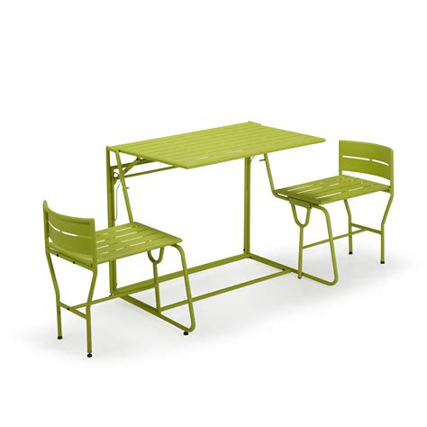 picnic le salon de jardin balcon transformable 2 en 1