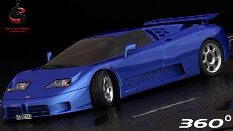 It was the only production model made by romano artioli's italian incarnation of bugatti. bugatti eb110 ss 1992 obj