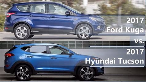 ford kuga   hyundai tucson technical