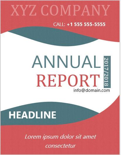 report cover page templates  ms word word excel