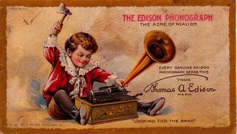 Toxic Toys The Invention Of The Phonograph Kunm