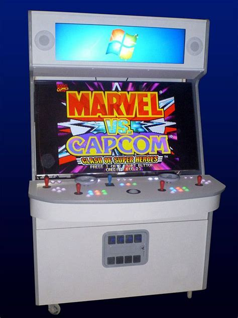 Massive 4 player arcade cabinet features 55 inch LED/LCD