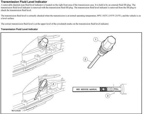5.0 Transmission Fluid Check
