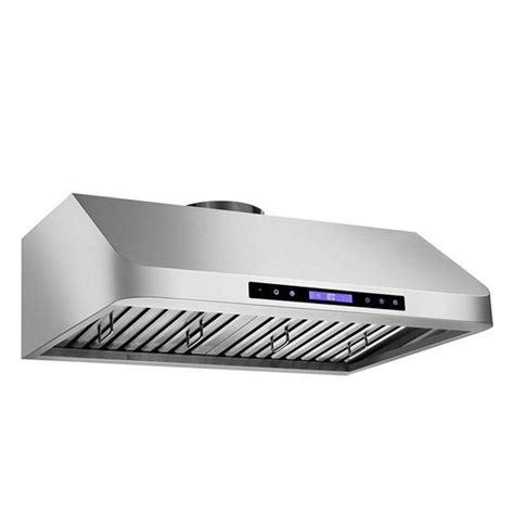 42 under cabinet range hood kokols 42 in 900 cfm under cabinet touch screen range