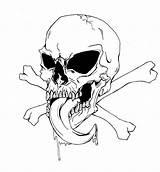 Skull Bones Pages Coloring Drawing Crossbones Pirate Drawings Awesome Printable Roses Deviantart Crossbone Getdrawings Steer Human Horror Deviant Getcolorings Popular sketch template