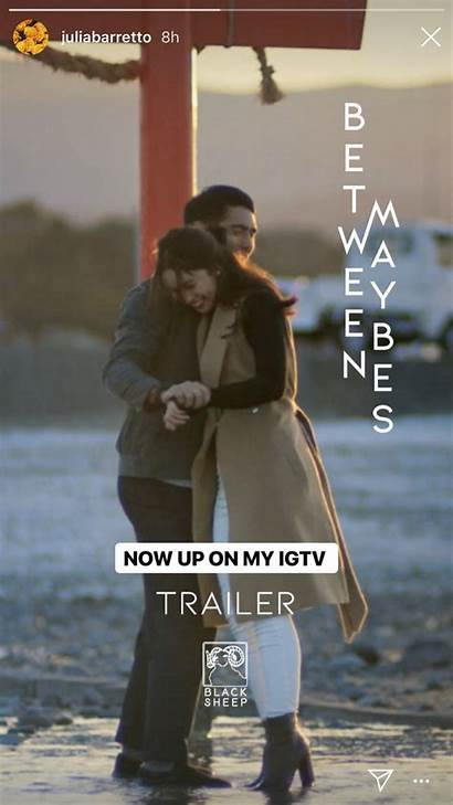 Maybes Between Trailer Official Instagram Juliabarretto Film