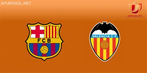 Resultado Final – Barcelona 1 Valencia 2 – Copa del Rey ...